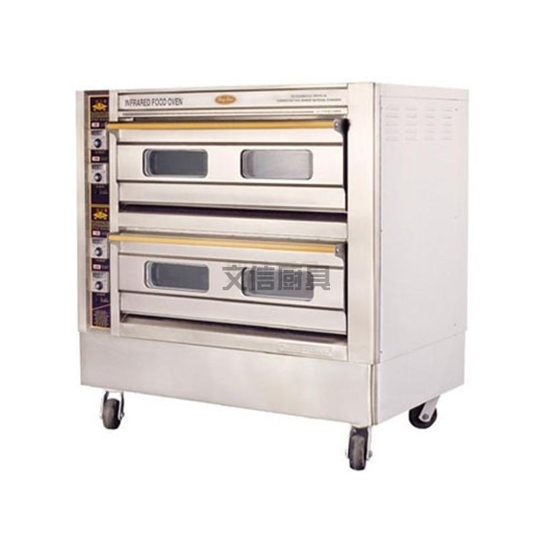 双层四盘烤箱